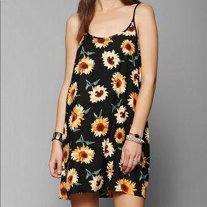 Kimchi Blue Sunflower Mini Dress